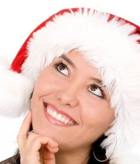 Christmas Girl Smile Pictures